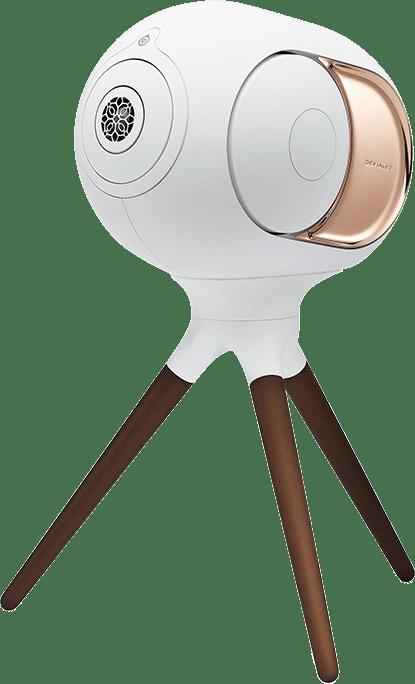 Ikonisches Weiß Devialet Treepod Hochwertiger Ständer für Phantom I.1