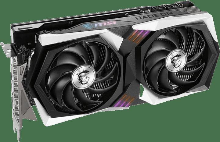 Black MSI RX 6700XT Gaming X.1