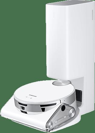 Blanco Samsung JetBot AI+ Robot aspirador con vaciado automático de suciedad.1