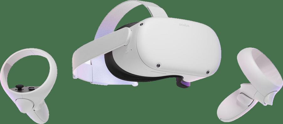 Weiß Oculus Quest 2 Virtual Reality-Brille - 128GB.2