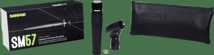 Black Shure SM57-LC Dynamische Instrument Microfoon.4