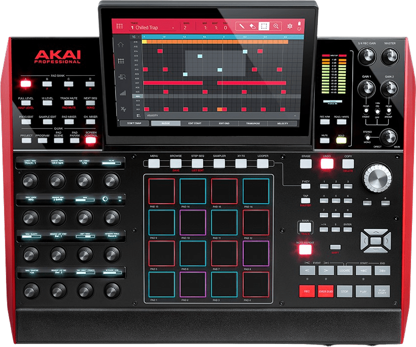 Black Akai Professional MPC X Standalone Muziekproductiecentrum.4