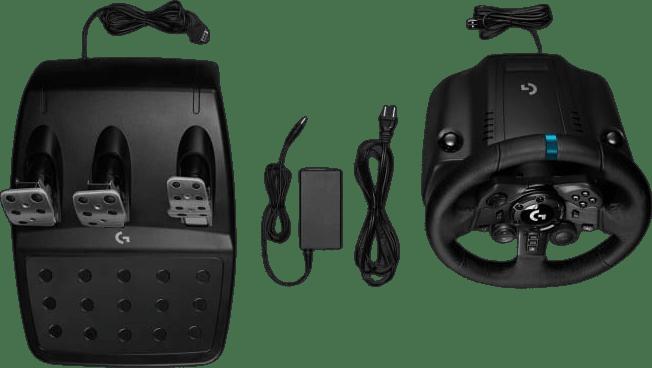 Black Logitech G923 Gaming Wheel (Playstation + PC).6