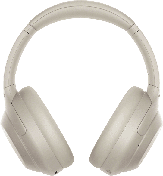 Silver Sony WH-1000 XM4 Over-ear Bluetooth Headphones.2