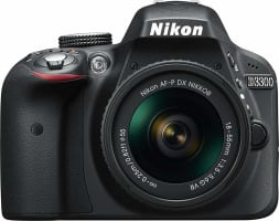Nikon D3300 SLR Digital Camera Kit + AF-P 18-55 VR black