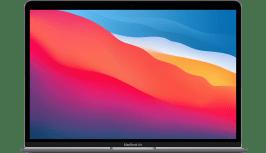 Apple MacBook Air (Late 2020) - English (QWERTY) Laptop - Apple M1 - 16GB - 256GB SSD - Apple Integrated 7-core GPU