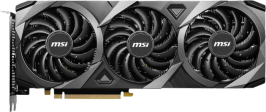 MSI GeForce RTX™ 3060 VENTUS 3X OC 12G Graphics Card