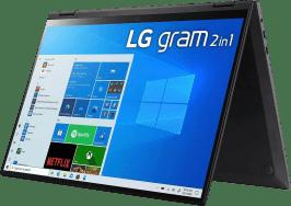 LG gram 16 Convertible - Intel® Core™ i7-1165G7 - 16GB - 1TB SSD - Intel® Iris® Xe Graphics