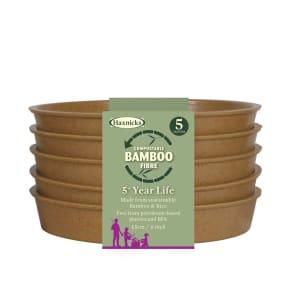 """Bamboo 6"""" Saucer - Terracotta"""