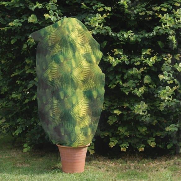 Green Fern Fleece Jackets - Large (Pack of 2)