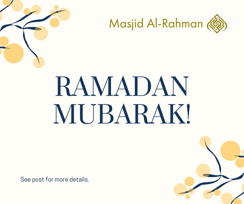 Ramadan Mubarak - 2021