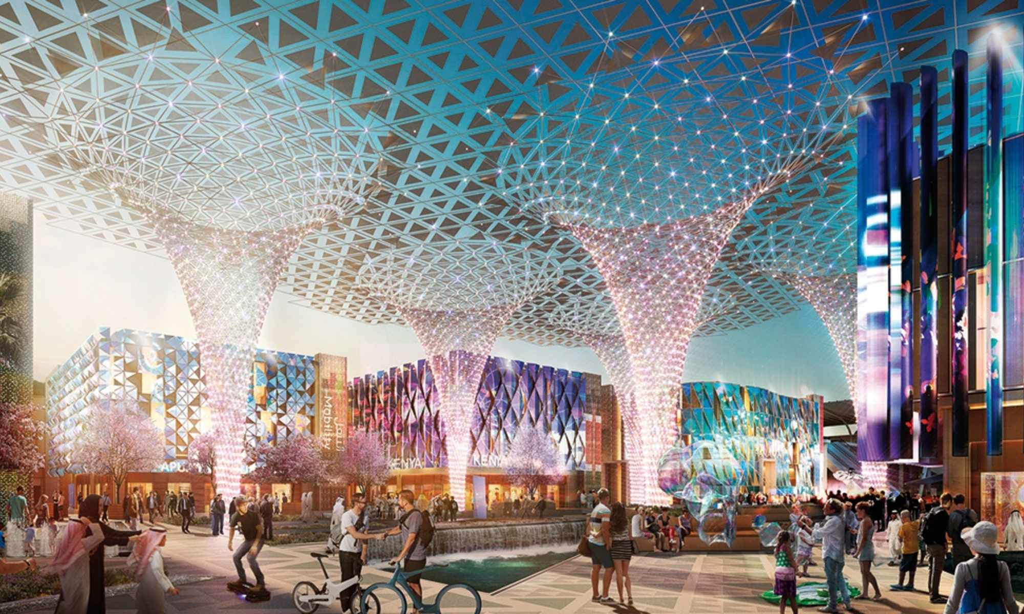 Expo 2020 Theme Districts