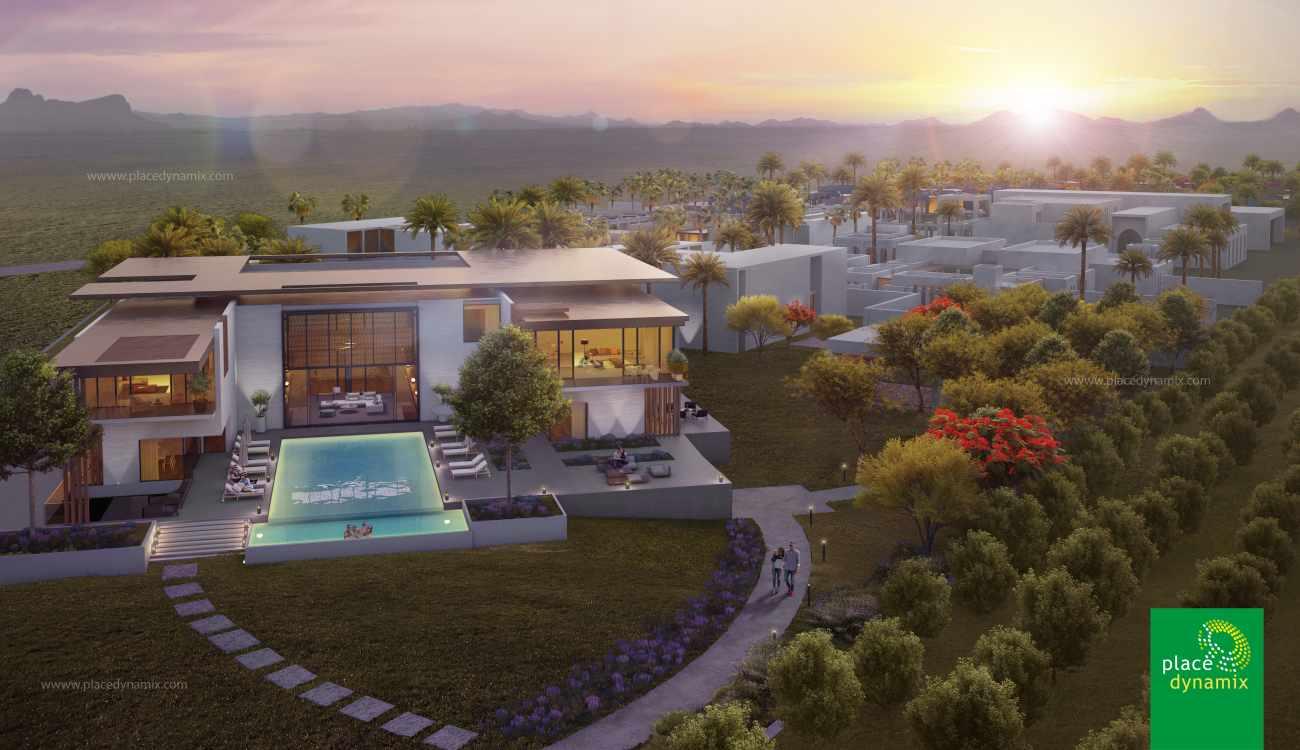 Luxury Hotel Master Plan