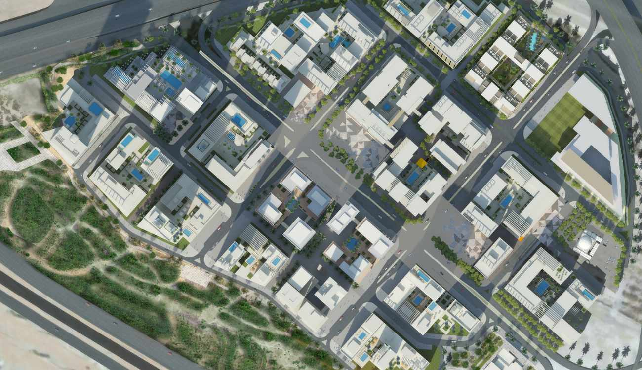 Downtown Dubai Master Plan