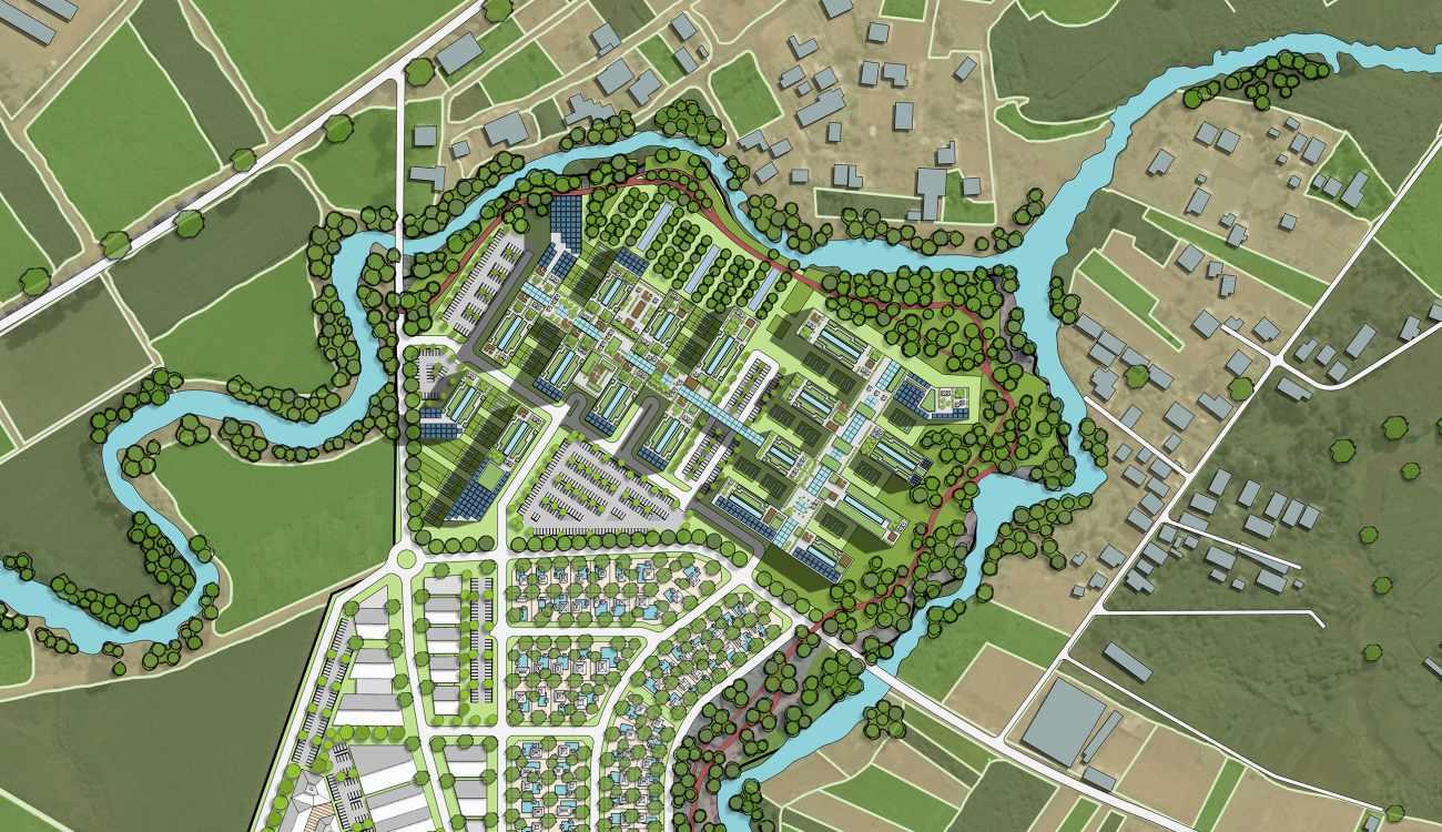 Mauritius regional hospital campus master plan