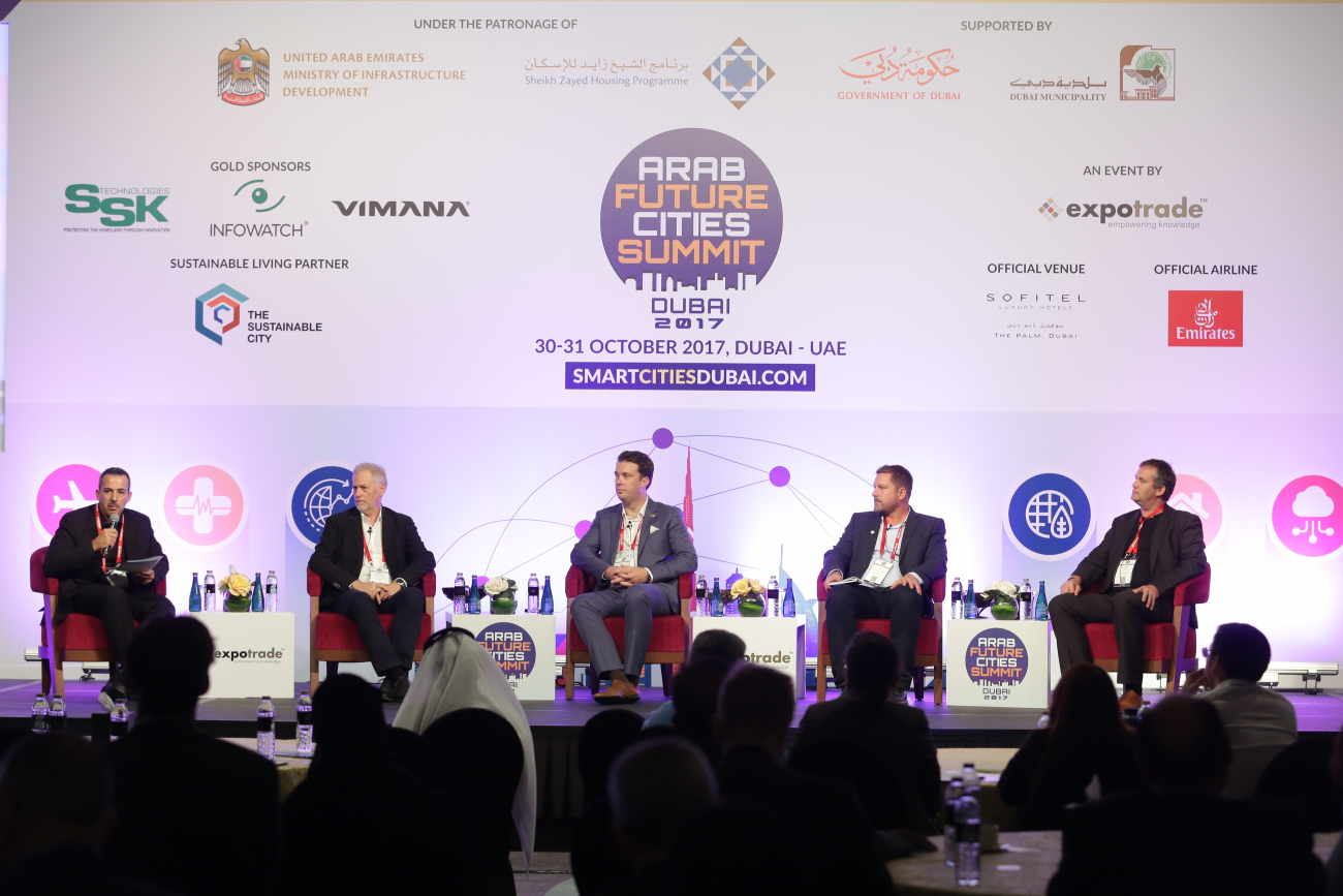 Place Dynamix supporting the Arab Future Cities Summit in Dubai