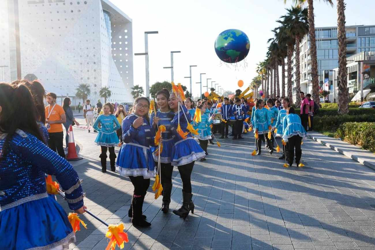 City Walk hosts Global Happiness Day