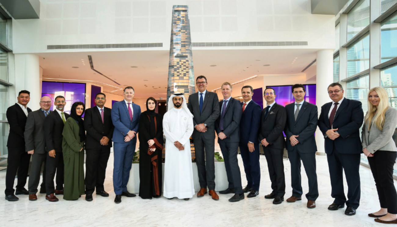DMCC Awards Uptown Dubai Super Tall Tower Construction Contract