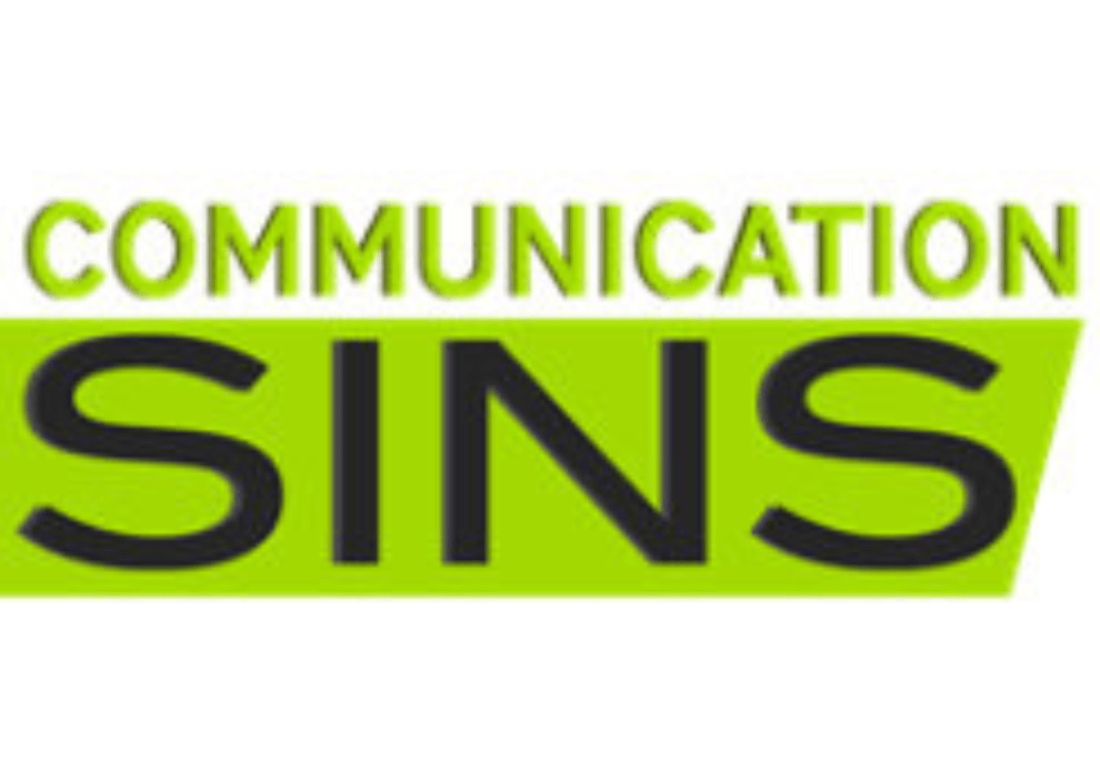 Deadly Communication Sins to Avoid