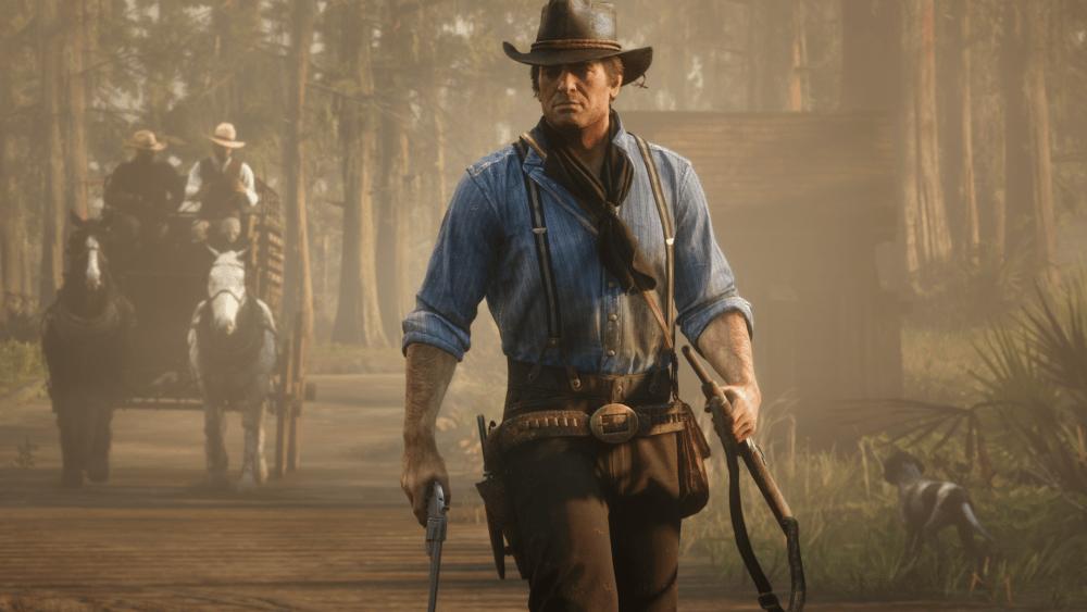 Screenshot of Arthur Morgan in Red Dead Redemption 2