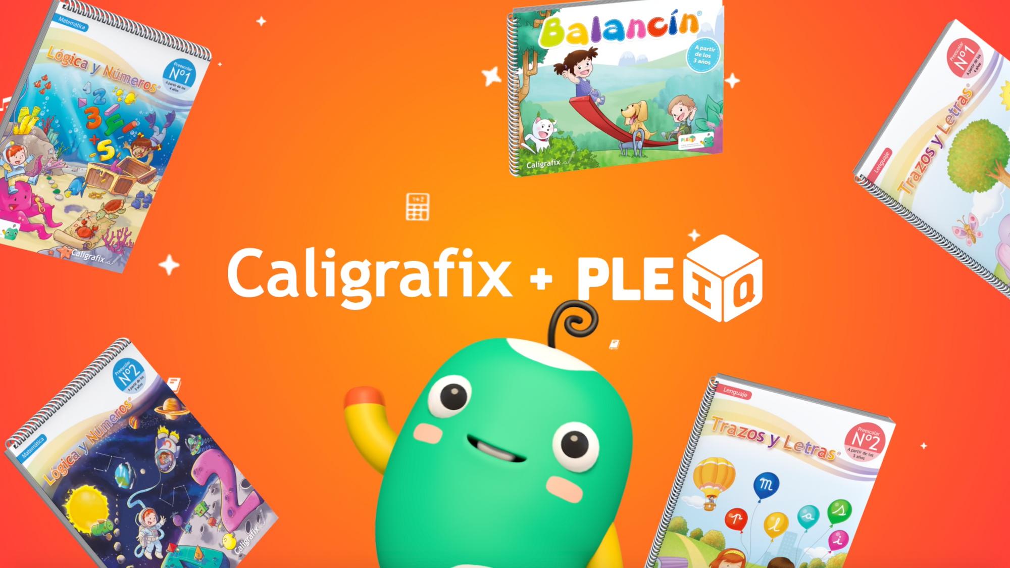 PleIQ y Caligrafix se alían para crear los primeros cuadernos interactivos de Chile y Latinoamérica.