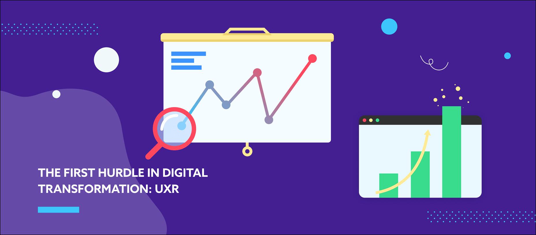 The First Hurdle in Digital Transformation: UXR