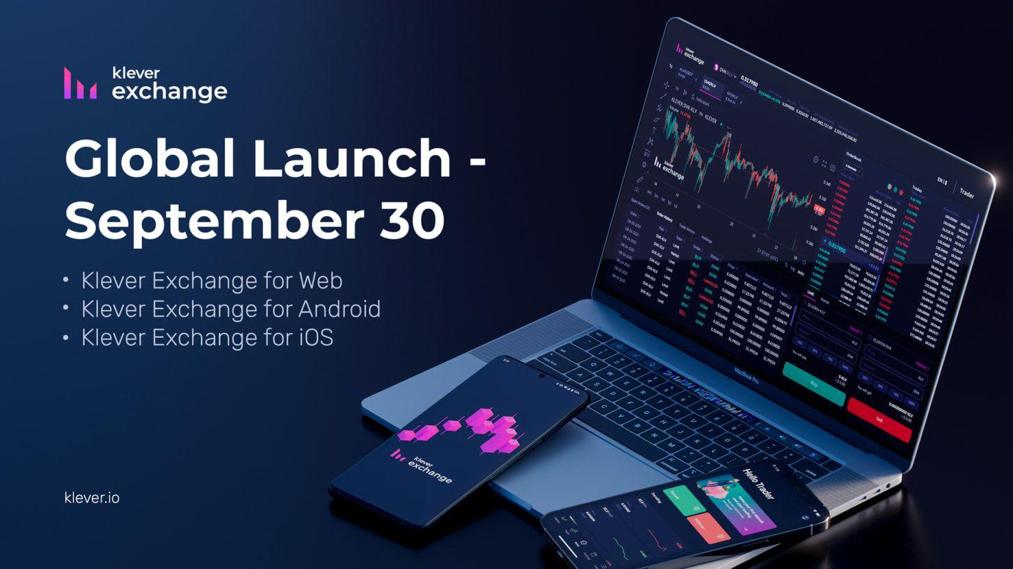 Global Launch Klever Exchange