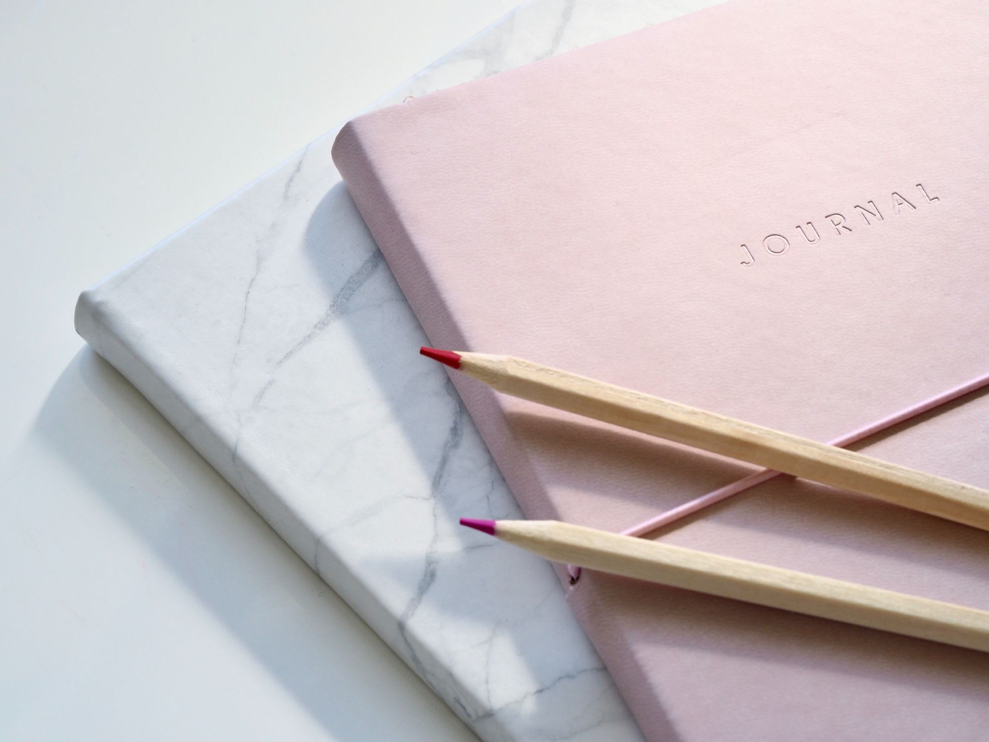 Bullet journal tools notebook and pen