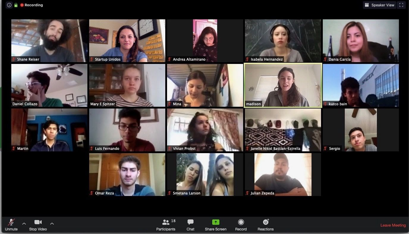 Tucson Environmental Nonprofit, For the World, Hosts International Youth Panel: a virtual networking party