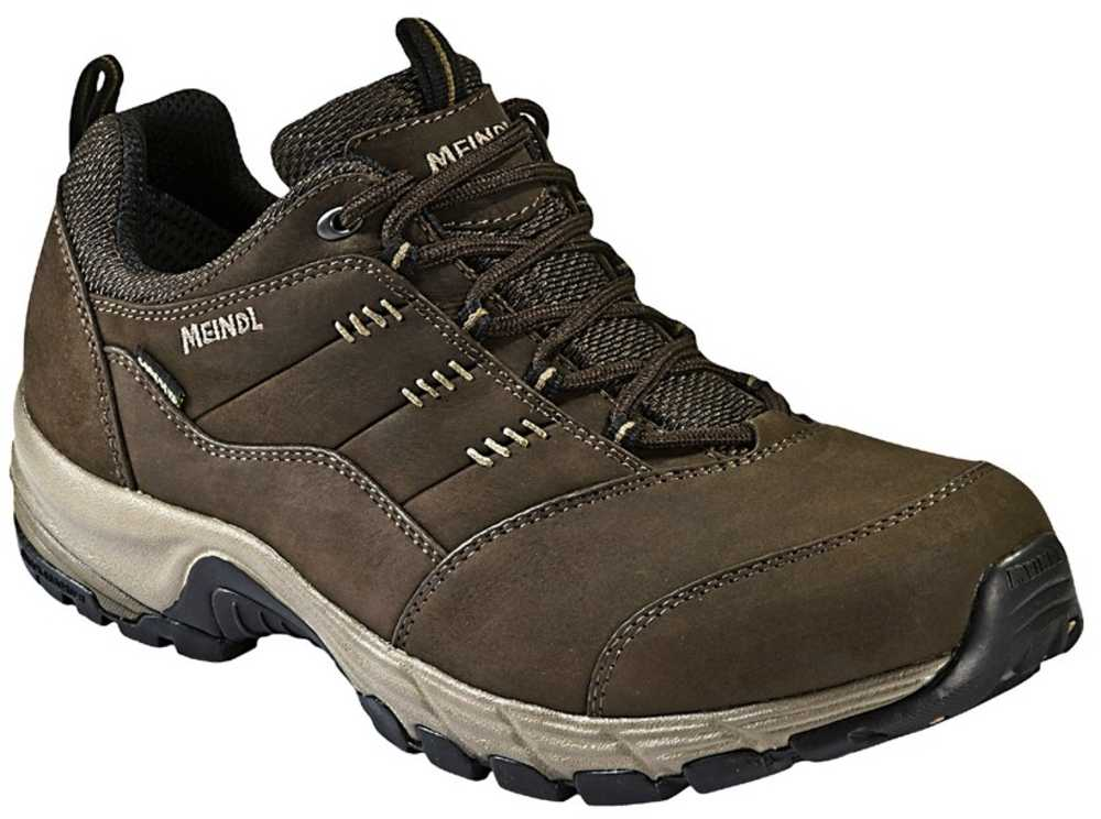 18d7dca2c55 Meindl Philadelphia Mens Wide Fit Walking Shoes - Dark Brown