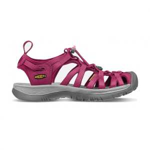 Keen Womens Whisper Walking Sandals - Beet Red/Honeysuckle
