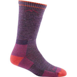Darn Tough 1907 Womens Hike Boot Cushion Socks - Plum Heather