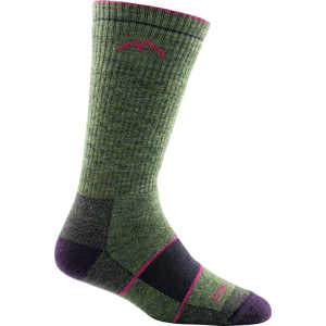Darn Tough 1908 Womens Hiker Boot Full Cushion Socks - Moss Heather
