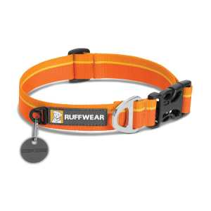 Ruffwear Hoopie Dog Collar - Orange Sunset