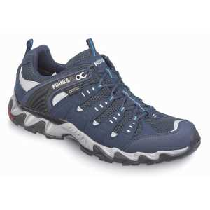 Meindl Respond GTX Walking Shoes - Midnight Blue/Sky