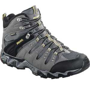 Meindl Respond Mid Mens GTX Walking Boots - Anthracite/Maize