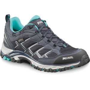 Meindl Caribe Lady GTX Walking Shoes - Navy/Turquoise
