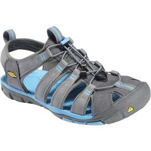 Keen Womens Clearwater CNX Walking Sandals - Gargoyle/Norse Blue