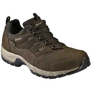 Meindl Philadelphia Mens Wide Fit Walking Shoes - Dark Brown