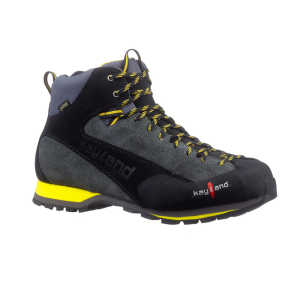 Kayland Vertex Mid GTX Walking Boots - Grey / Yellow - UK 6