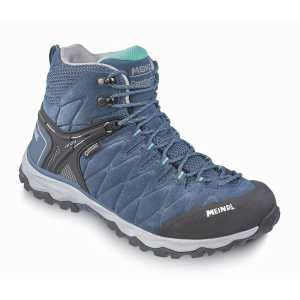 Meindl Mondello Lady Mid GTX Walking Boots - Denim/Turquoise