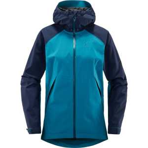 Haglofs Womens Esker Waterproof Jacket - Mosaic Blue/Tarn Blue