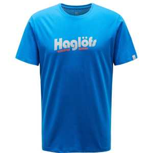 Haglofs Mens Camp Tee T-Shirt - Storm Blue