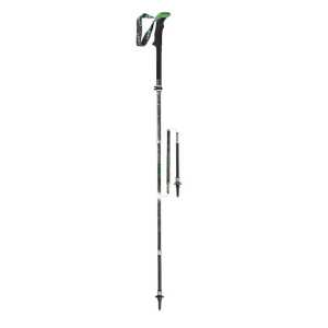 Leki Micro Vario Carbon Antishock Trekking Poles One Pair - Black