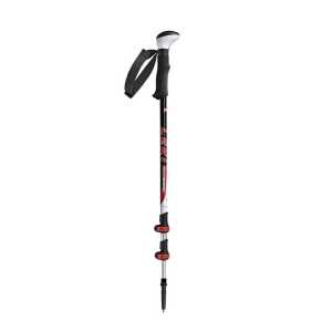 Leki Photosystem Alu Trekking Pole - Black/Red