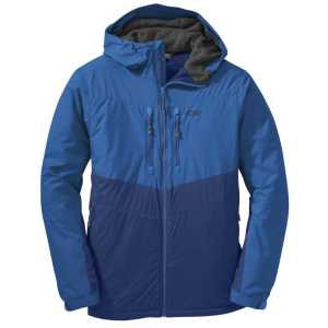 Outdoor Research Men's Alpenice Hooded Insulated Jacket