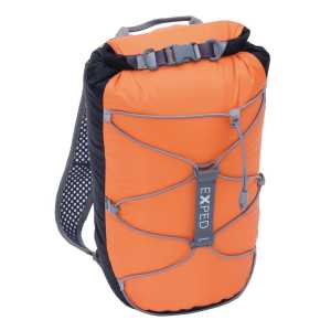 Exped Cloudburst 25 Waterproof Rucksack - Black/Orange