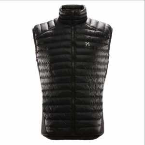 Haglofs Men's Essens Insulated Mimic Vest - True Black