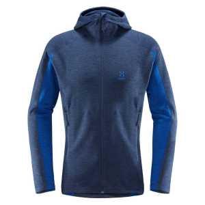 Haglofs Mens Heron Hood Fleece Jacket