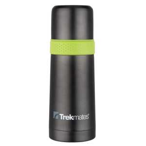 Trekmates 500ml Vacuum Flask With Cup - Green